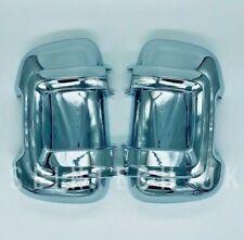 FIAT DUCATO CITROEN RELAY Door Mirror Casing Cover Chrome LONG ARM Motorhome