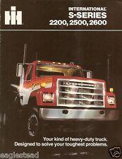Truck Brochure - International IH - 2200 2500 2600 - S-series (TB923)