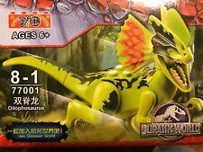 YO Jurassic World Minifigures Building Blocks