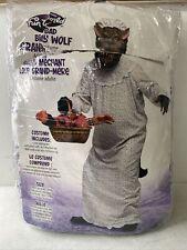 Fun World Big Bad Granny Wolf Costume, One Size.  J