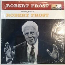 "Robert Frost Reads The Poems Of Robert Frost 33RPM 12"" Frost 1957 ShopVinyls.com"
