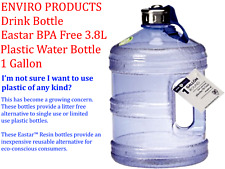 ENVIRO PRODUCTS Eastar BPA Free Drink Bottle 3.8L Plastic Water Bottle 1 Gallon