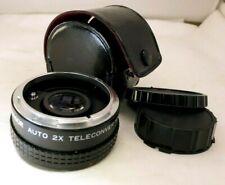 Panagor 2X FD Tele-converter Lens manual Focus for  Canon AE-1 cameras