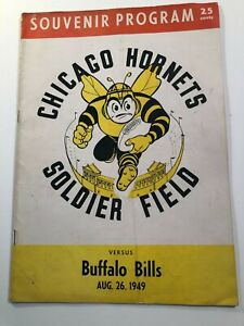 Chicago Hornets vs Buffalo Bills -All American Football Conference- Aug 26, 1949