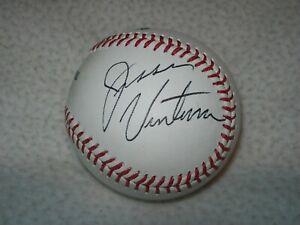 JESSE VENTURA SIGNED AUTOGRAPHED MLB BASEBALL WRESTLER GOVERNOR ACTOR JSA