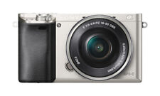 SONY Alpha A6000 Mirrorless 24.3 MP Digital Camera - Silver (with 16-50mm Lens)