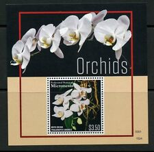 MICRONESIA 2015 ORCHIDS  SOUVENIR SHEET MINT NH