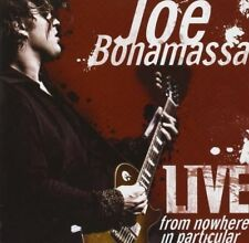 Live From Nowhere in Particular 8712725724827 by Joe Bonamassa CD