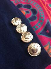 Polo Ralph Lauren Vintage Men's 38R Wool Fleece Academy Navy Sport Coat Blazer
