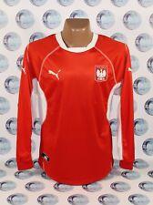 POLAND NATIONAL TEAM 2002 2004 FOOTBALL SOCCER SHIRT JERSEY LONG SLEEVE PUMA L