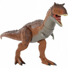 Mattel Jurassic World Primal Attack Control Conquer Carnotaurus Dinosaur Figure