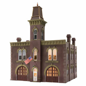 Woodland Scenics HO Scale Built-Up Building/Structure Firehouse