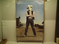 James Dean cowboy poster lot 1987-1990 two for one
