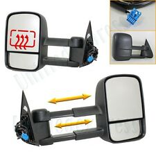 Telescoping Towing Mirrors(L+R Side)~Power Heated 03-07 Silverado Pickup Truck
