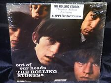 Rolling Stones OUT OF OUR HEADS USA 1965 1st Press MONO PROMO LP W/HYPE STICKER