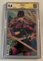 Dc Comics Batman #92 CGC 9.8 S.S. Artgerm Cover B Variant First Punchline Cover