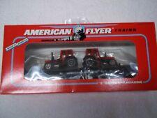 American flyer Flat car W/tractors #48509, New
