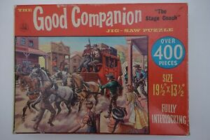 Vintage Good Companion jigsaw puzzle -- The Stage Coach