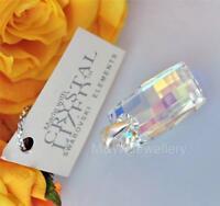 PENDANT Crystals From Swarovski® URBAN CRYSTAL AB 20mm Sterling silver 925