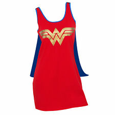 Wonder Woman Cape Costume Dress Red