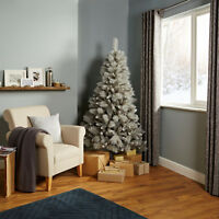 6ft Silver Effect Tula Gorgeous Classic Christmas Tree Ideal For Xmas