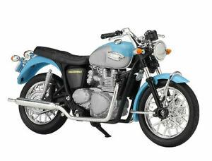 Welly 1:18 Triumph Bonneville Motorcycle Bike Model Toy New