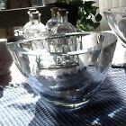 Signed Orrefors Large Bowl, Strombergshyttan
