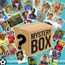 Mystery Loose Football Stickers & Cards Box(Job Lot) Panini Topps Merlin