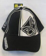 NEW ZEALAND WARRIORS NRL TEAM LOGO ADJUSTABLE PEAK CAP HAT.