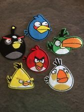 Angry birds X 6 Iron On Patches