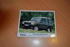PHOTO DE PRESSE ( PRESS PHOTO ) Land Rover Discovery XS  R0200