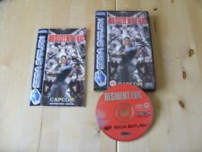 SEGA SATURN GAME - RESIDENT EVIL - Please Read