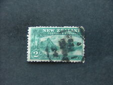 New Zealand 1899 2/- blue-green SG269 Used