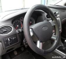 Universale Nero Perforati Ecopelle Coprivolante Auto Protectorglove Un