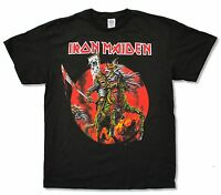 Iron Maiden Samurai Ed Black T Shirt New Official Band Merch