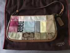Coach Small Handbag, Multi Color