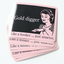 Wholesale Vinyl Stickers Official David & Goliath Gold Digger