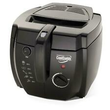 NEW Presto 05442 CoolDaddy Cool-touch Professional Deep Fryer FEATURES! - Black