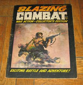 BLAZING COMBAT # 1  OCT. 1965  WARREN