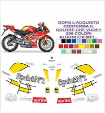 kit adesivi stickers compatibili rs 125 rep. spains n1 2007