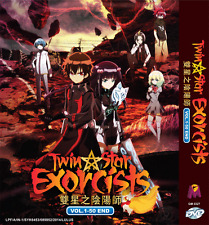 ANIME DVD Twin Star Exorcists Vol.1-50 End English Subs All Region + FREE ANIME