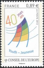 France (Council of Europe) 2012 Youth Centre 40th/Youth Fund 1v set (n45919)