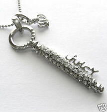 KEY & CROWN CRYSTAL CHARM NECKLACE PENDANT HOT