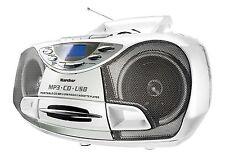Karcher RR 510(N)-W Boombox Stereoanlage CD MP3 USB PLL Radio Kassette tragbar