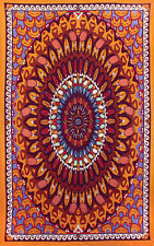 INDIAN-WANDERING BEAR-TAPESTRY 60X90 COTTON WALLHANGING-FREE 3D GLASSES