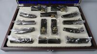 14pcs various of mini Ebony Japanese wooden planes ,woodworking/hand planes