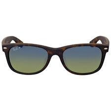 Ray Ban New Wayfarer Matte Blue-Green Gradient Sunglasses