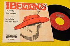 """I BELTONS 7"""" LA BALLATA DELLO SCIATORE ORIG ITALY BEAT 1968 EX+ ! RARISSIMO"""