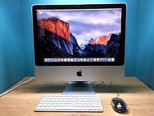 Apple iMac 20 inch Mac Mini Desktop Computer Upgraded 4GB RAM 21.5 24 DVD