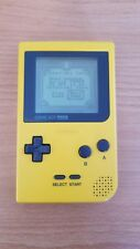 Nintendo Game Boy Color Yellow 8MB Handheld System w/ 1 Game!